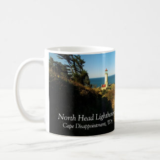 North Head Lighthouse, Cape Disappointment Coffee Mug