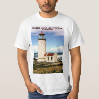 North Head Lighthouse, Washington T-Shirt