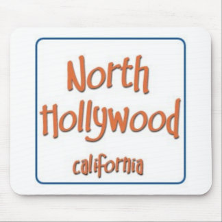 North Hollywood California BlueBox Mouse Pad