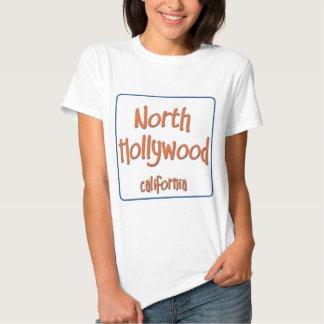 North Hollywood California BlueBox T-shirts