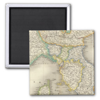 North Italy Square Magnet