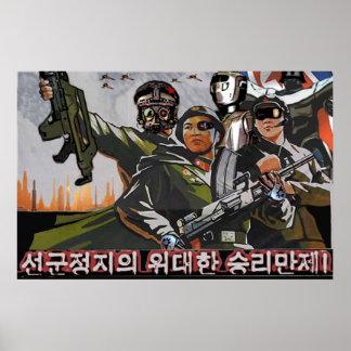 North Korea 2049 Poster