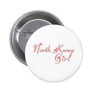 North Korea Pin