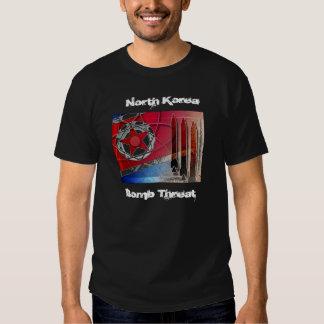 , North Korea, Bomb Threat T-shirts
