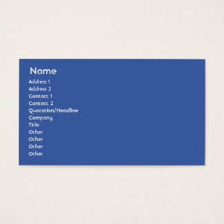 North Korea - Business Business Card