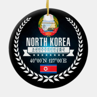 North Korea Ceramic Ornament