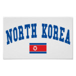 North Korea College Style Posters