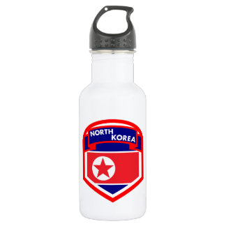North Korea Flag 532 Ml Water Bottle