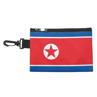 North Korea Flag Accessory Bag
