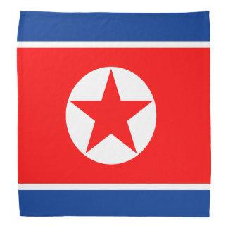 North Korea Flag Bandana
