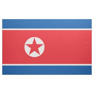 North Korea Flag Fabric