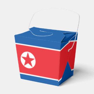 North Korea Flag Favour Box
