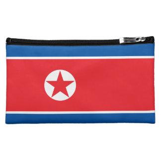 North Korea Flag Makeup Bag