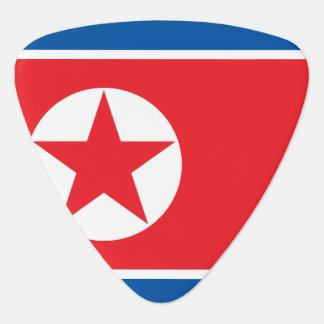 North Korea Flag Plectrum