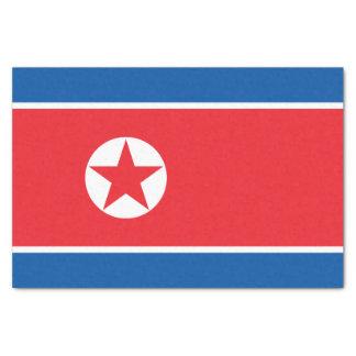 North Korea Flag Tissue Paper