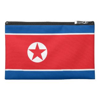 North Korea Flag Travel Accessory Bag