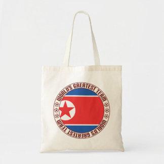 North Korea Greatest Team Budget Tote Bag