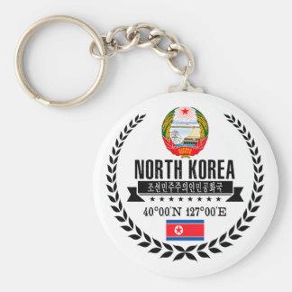 North Korea Key Ring