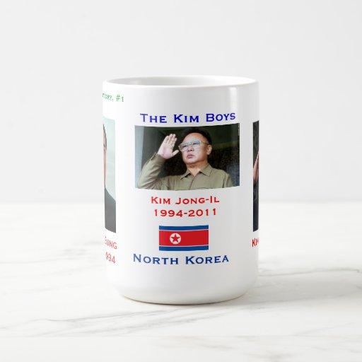 North Korea Kim Boys Mug