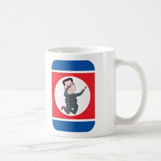North Korea Kim Jong Un Dabbing Coffee Mug