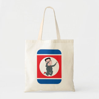 North Korea Kim Jong Un Dabbing Tote Bag