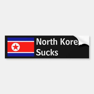 North Korea Sucks Bumper Sticker