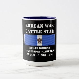 North Korean Aggression Campaign Two-Tone Mug