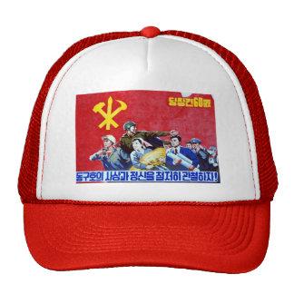North Korean Communist Party Poster Cap