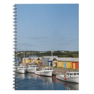 North Lake Harbour, Prince Edward Island. Spiral Note Books