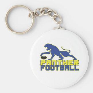 North Lamar Panther Football Paris Texas Key Ring