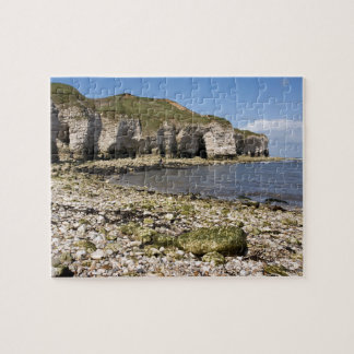 North Landing at Flamborough in Yorkshire photo Jigsaw Puzzle