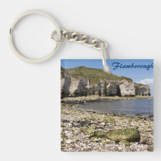 North Landing at Flamborough in Yorkshire photo Key Ring