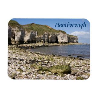 North Landing at Flamborough in Yorkshire photo Magnet