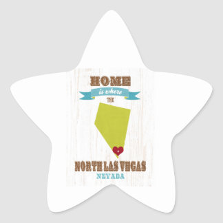 North Las Vegas, Nevada - Home is Where. Stickers