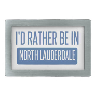 North Lauderdale Belt Buckle