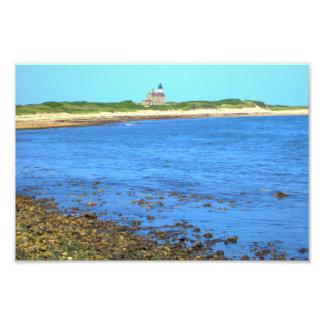 North Light Block Island Photographic Print