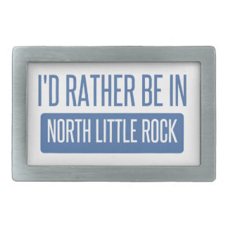 North Little Rock Rectangular Belt Buckles