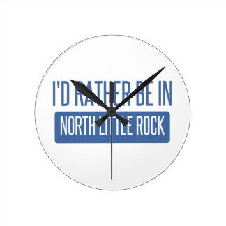 North Little Rock Round Clock
