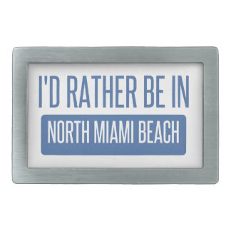 North Miami Beach Belt Buckle