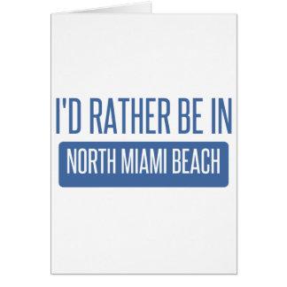 North Miami Beach Card