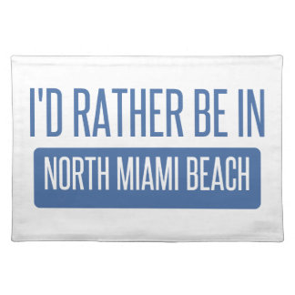 North Miami Beach Placemat