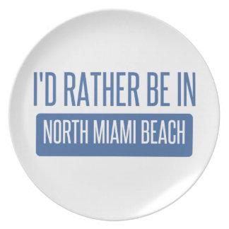 North Miami Beach Plate