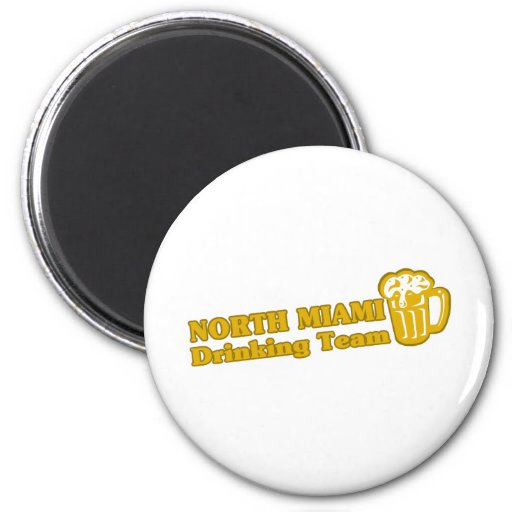 North Miami Drinking Team tee shirts Refrigerator Magnets