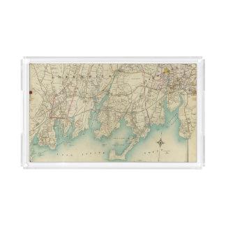 North New York City 7 Acrylic Tray