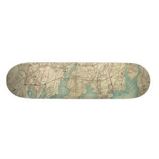 North New York City 7 Custom Skateboard