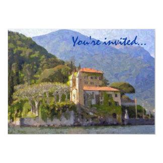 "North of Italy Party Invitations 5"" X 7"" Invitation Card"