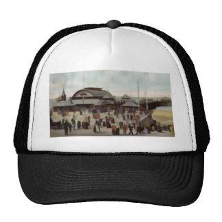 NORTH PIER BLACKPOOL C1906 MESH HATS
