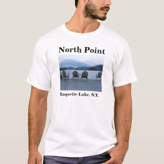 North Point , Raquette Lake, N.Y. T-Shirt