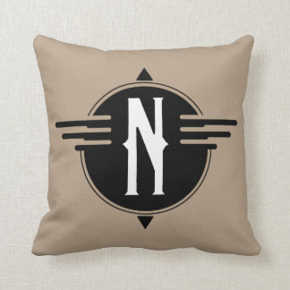North Pointer Map Pillow