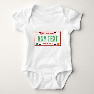 North Pole 2017 Baby Bodysuit